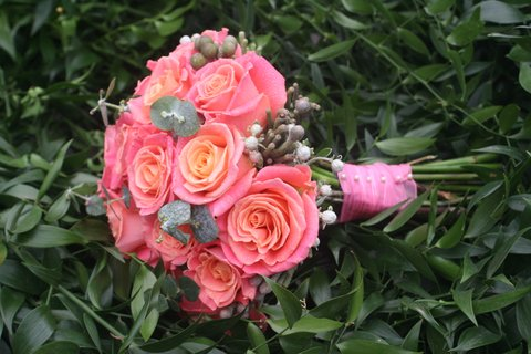 Miss Piggy rose bouquet