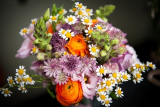 Bridesmaid's posy